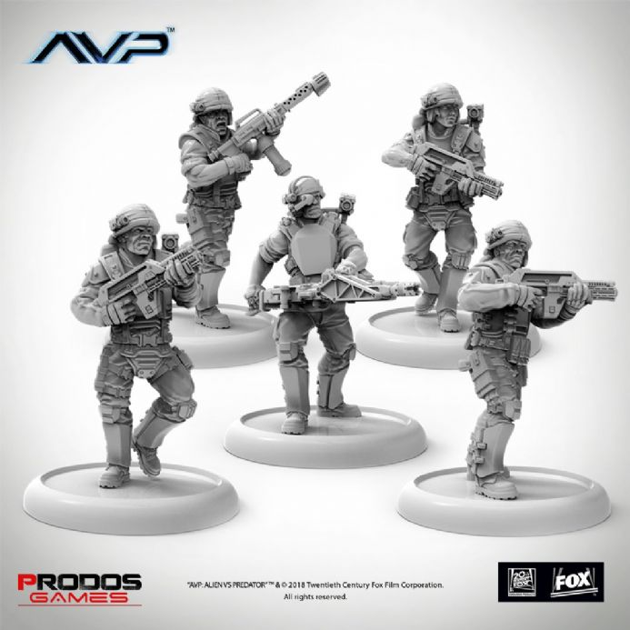 AvP: The Hunt Begins – USCM Multipart Marines Expansion | Buy now at The G33Kery - UK Stock - Fast Delivery